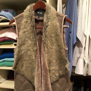 Nice and Zoe suede vest